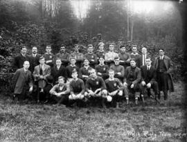 Welsh Rugby Team, 1913-1914