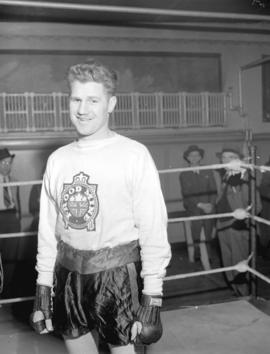 Len Wadsworth Middleweight Champ of Canada