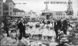 May Day [Queen and attendants], New Westminster, B.C.