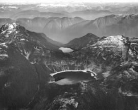 [Aerial view of Lake Burwell and Pallisade Lake]