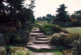 Gardens - United Kingdom : botanical garden, Edinburgh, rock garden