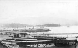 "Freighter moored at Pier ""A"" Section 2"