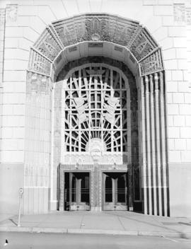 Marine Building Entrance, Vancouver, B.C.