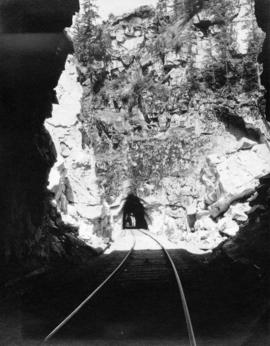 2 Tunnels on the Kettle Valley Line near Hope [B.C.]