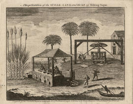 Engraving of cane mill