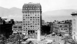 Victory Square and Dominion Building