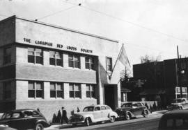 [Photograph of the Canadian Red Cross Society building]