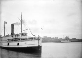 "[The ferry ""City of Seattle"" departing from Evans, Coleman and Evans dock]"