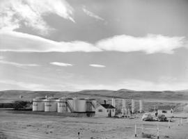 Turner Valley Oil Storage Tanks