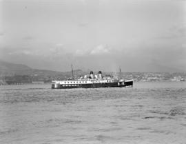 "[The ""Lady Alexandra"" on the water]"