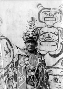 "[""An upcoast Indian"" during the royal visit]"