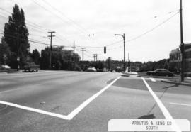 Arbutus [Street] and King Edward [Avenue looking] south