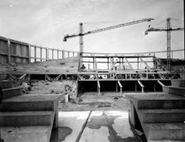 Construction of Pacific Coliseum