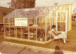 All-Alume Greenhouses Ltd. display