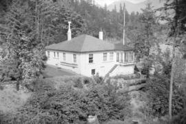 [Exterior view of a house on Bowen Island]