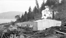 Vancouver East [Construction of storage tanks]