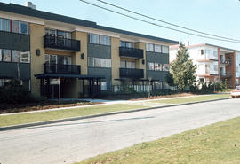 [Apartment building Cedar Terrace at 6001 Yew Street]