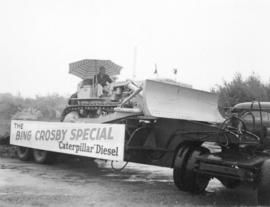 "The Bing Crosby Special ""Caterpillar"" Diesel at ground-breaking ceremony for Sunset Com..."