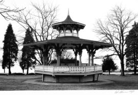 Bandstand in Alexandra Park, English Bay