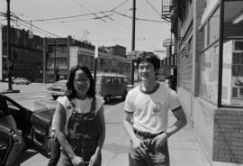 Kathy Wong and Donald Yee at 15 East Pender Street