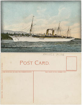 "C.P.R. Royal Mail Steamer ""Empress of India"""