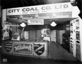 City Coal Co. display of Welsbach refrigerators