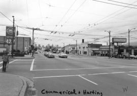 Commercial [Drive] and Hastings [Street looking] west