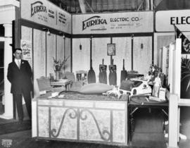 Eureka Electric Co. display of vacuum cleaners