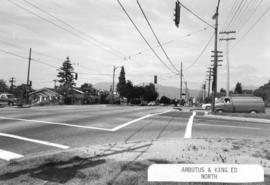 Arbutus [Street] and King Edward [Avenue looking] north