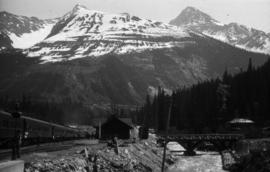 [Train at Glacier Station]