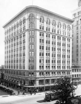 [Birks Building - southeast corner of Granville Street and West Georgia Street]