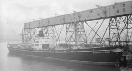 S.S. Alexander Nevsky [at dock]
