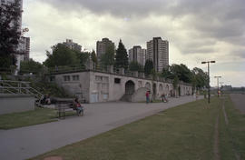 English Bay Bathhouse before repainting