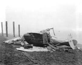 Wrecked seaplane - English Bay