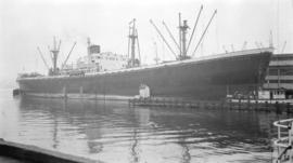M.S. Italsole [at dock]