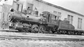 [Vancouver Harbour Commissioners Terminal Railway Steam] Yard  Eng. #206