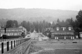 [View of 25th Street from Dundarave Pier]