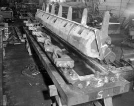 [Large item being built at Vancouver Engineering Works]