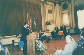 Speaker at the Distinguished Pioneer Award Ceremony at Hotel Vancouver