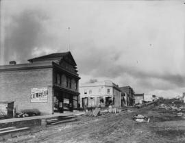 [Building and road construction on Londsdale Avenue]