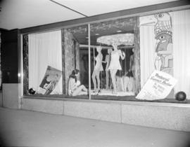 [Woodward's Store bathing suit window display]
