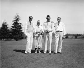 Dave Black.  Clark Gable and party at Shaughnessy Golf Club