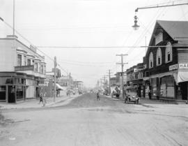 [View of the 3500 block Commercial Street looking north from 20th Avenue]