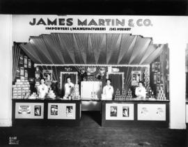 James Martin and Co. display of canned food products