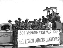 Jubilee Parade Veterans float
