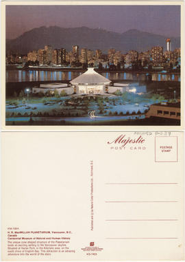 H.R. MacMillan Planetarium, Vancouver, B.C., Canada [and] Centennial Museum of Natural and Human ...