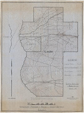 Topographical map of T.L. 44341