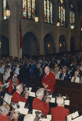 Salvation Army Band performs at St. Andrew's Wesley Church