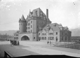 [C.P.R. station, foot of Granville Street]