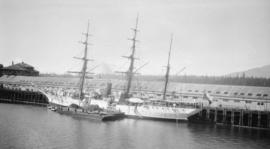 S.S. General Baquedano (Training Ship) [at dock]